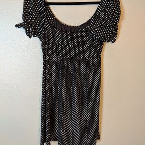 Heart & Soul polka dot dress